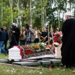 Beisetzung auf dem Friedhof bei Berlin-Kladow