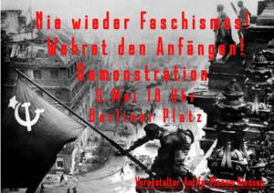 Demo - Nie wieder Faschismus! @ Berliner Platz | Gießen | Hessen | Deutschland