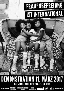 Frauenbefreiung ist international @ Berliner Platz | Gießen | Hessen | Deutschland