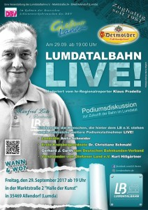 Podiumsdiskussion zur Reaktivierung der Lumdatalbahn @ Haus der Kunst | Allendorf (Lumda) | Hessen | Deutschland