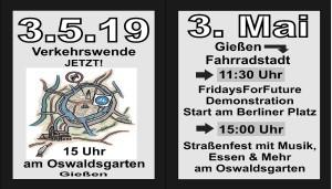 Fridays for Future & Verkehrswende in Gießen @ Berliner Platz / Oswaldsgarten