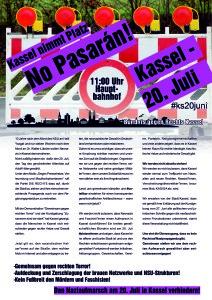 Kassel nimmt Platz: No Passarán! @ Hauptbahnhof