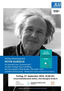 Michael Rotschopf liest Peter Kurzeck @ Uni-Bibliothek Gießen