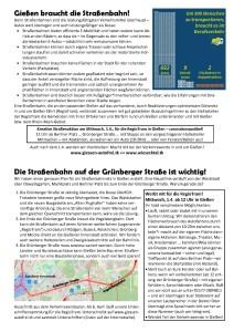 Gießen braucht eine Straßenbahn! @ Berliner Platz