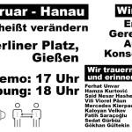Hanau-Mahnwache